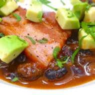 Black Bean Soup with Pork Belly (Mexican)
