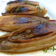 Belgian Braised Endives with butter, brown sugar and vinegar... perfection!
