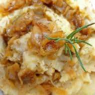 Recipe Mashed Potatoes with Caramelized Onions