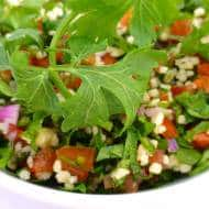 Tabbouleh Recipe (Couscous & Parsley Salad)