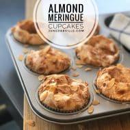 Almendrados (Spanish Meringue Cupcakes)