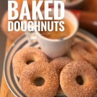 Baked Doughnut Recipe from Scratch