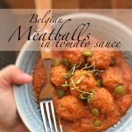 Meatballs In Tomato Sauce (Belgian Classic)