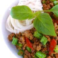 Basil Pork (Thai Pork Stir Fry Recipe)
