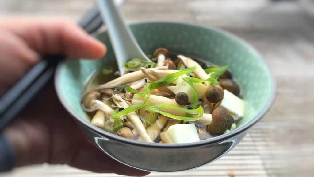Japanese Mushroom Soup Recipe Simple Tasty Good