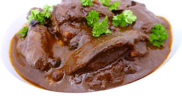 Chicken liver stew with port wine balsamic vinegar simple tasty my chicken liver stew a dark and powerful stew for liver lovers forumfinder Image collections