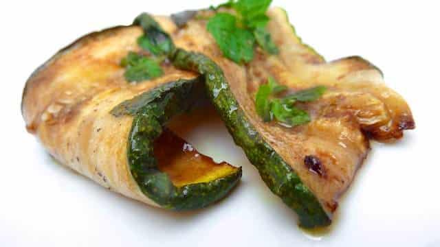 Starter dishes zucchini