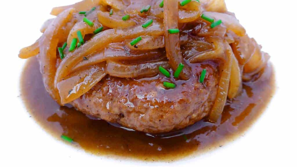 Hamburger Steaks with Onion Gravy | Simple. Tasty. Good.