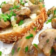 Mushroom On Toast Recipe