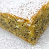 Poppy Seed Cake Recipe with Orange Blossom