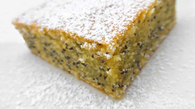 Poppy Seed Cake Recipe With Orange Blossom Simple Tasty Good
