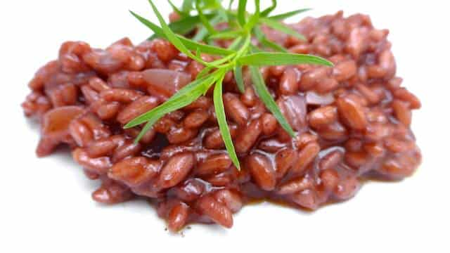 Italian Red Wine Risotto: you will love this gorgeous risotto rosso...