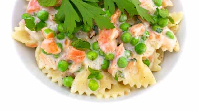 Cold Smoked Salmon Pasta Salad | Simple. Tasty. Good.