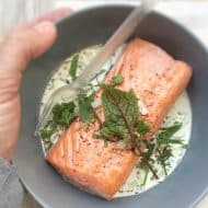 Creamy Salmon & Sorrel Recipe