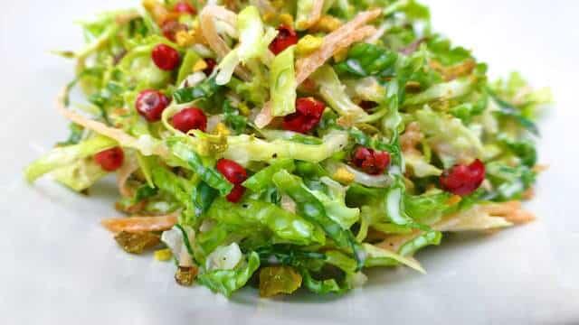Savoy Cabbage Salad Recipe Simple Tasty Good