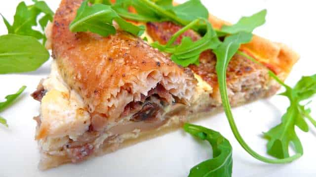 Smoked Trout Quiche