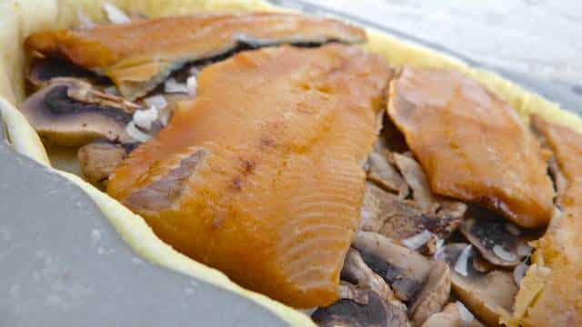 My delectable smoked trout quiche: what a surprising smoked trout recipe... And the perfect fish starter! Homemade and so good...