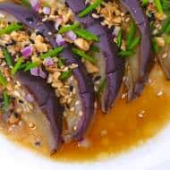Chinese Style Steamed Eggplant