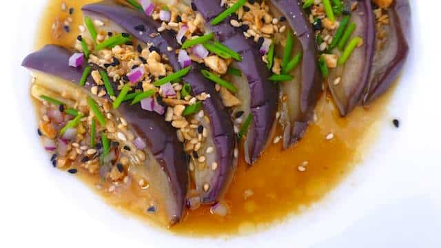Chinese Style Steamed Eggplant | Simple. Tasty. Good.