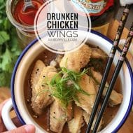Drunken Chicken Wings (醉雞翼)