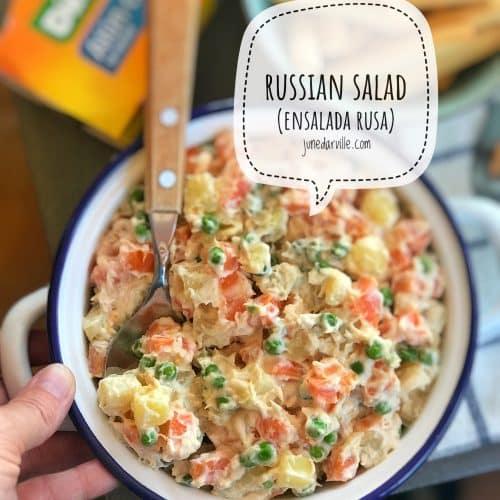 Ensalada Rusa (Spanish Potato Salad)