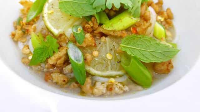 Thai Chicken Noodle Soup Recipe Simple Tasty Good