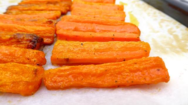 Roasted Carrots Recipe in a creamy homemade lemon and coriander butter...