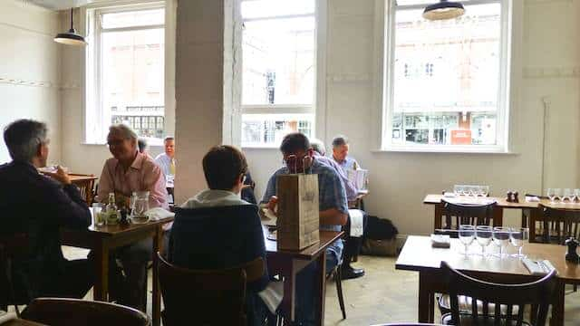 Lunch at St. John Bread and Wine in London!