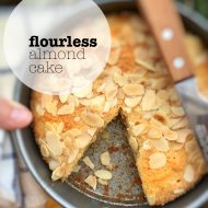 Flourless Almond Cake (Gluten Free Recipe)