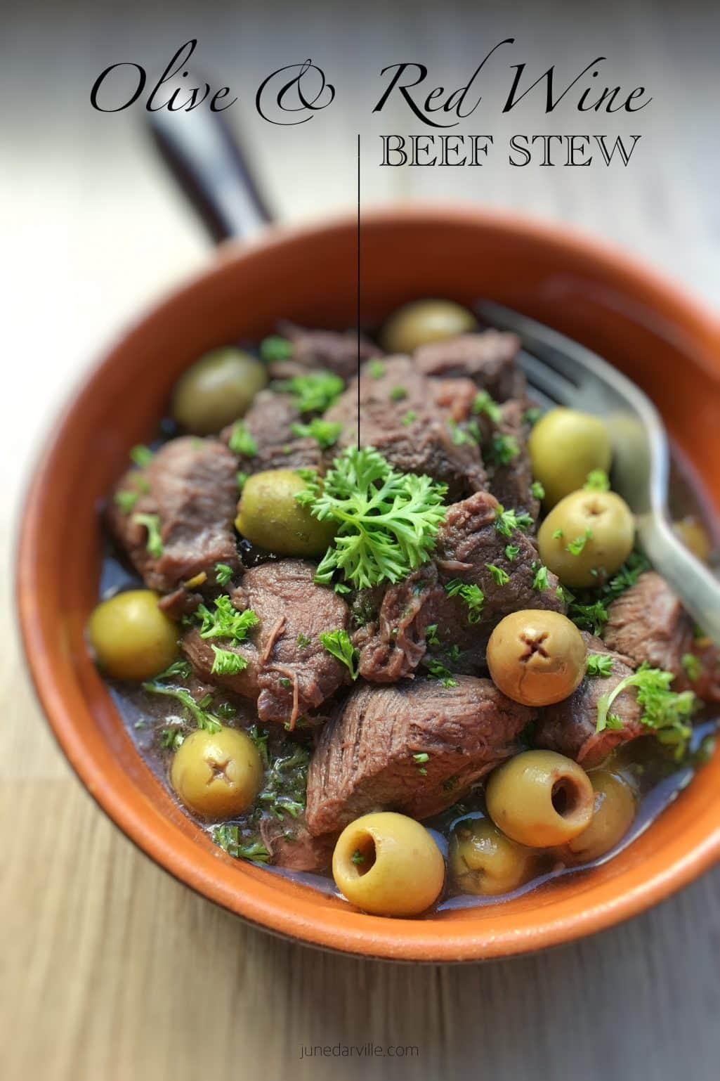 Recipe For Beef Stew with Olives