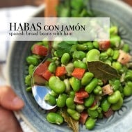 Habas Con Jamon (Spanish Broad Beans with Ham)