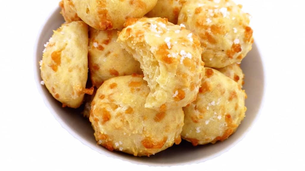 Buttermilk Cheddar Biscuits Recipe   Simple  Tasty  Good