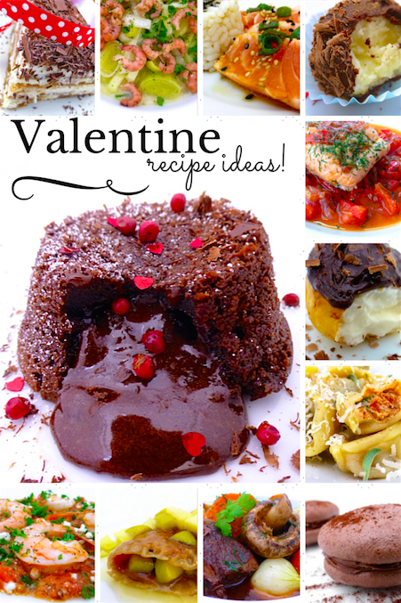 Valentine recipes simple tasty good for Good valentines day meal ideas