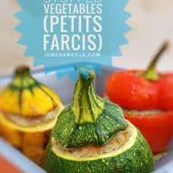 Stuffed Zucchini Recipe (French Petits Farcis)