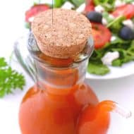 Roasted Tomato Vinaigrette Recipe