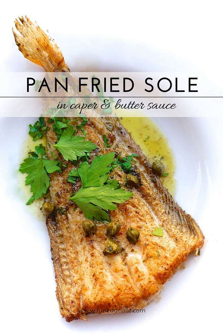 Sole meuniere with a twist: here's a delicious pan fried sole with a ...