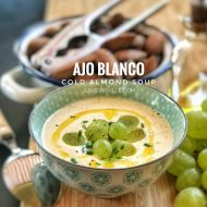 Cold Almond Soup (Spanish Ajo Blanco)