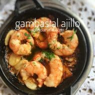 Garlic Prawns Recipe (Spanish Gambas al Ajillo)