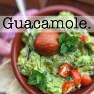 Easy Guacamole Recipe – Classic!