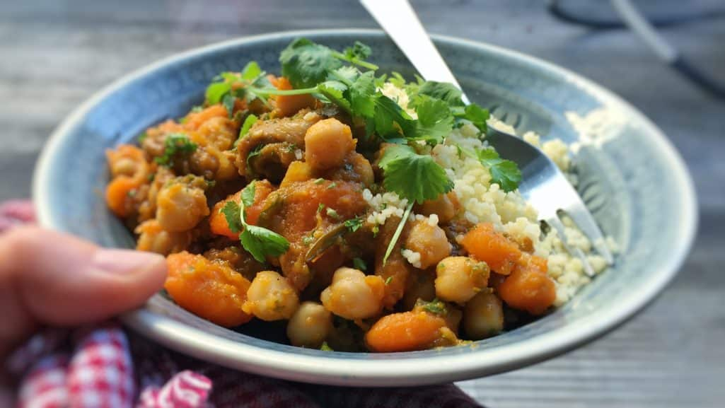 This flavorful and hearty lamb stew couscous always tastes great, no matter what season it is! Bring some Eastern flavor on your dinner table!