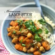 Lamb Stew Couscous (Moroccan Recipe)