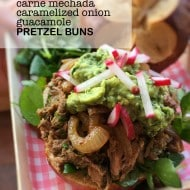 Pulled Pork Pretzel Buns Recipe