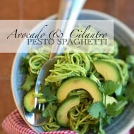 Avocado Pesto Spaghetti Recipe