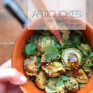 Artichokes in Oyster Sauce Recipe