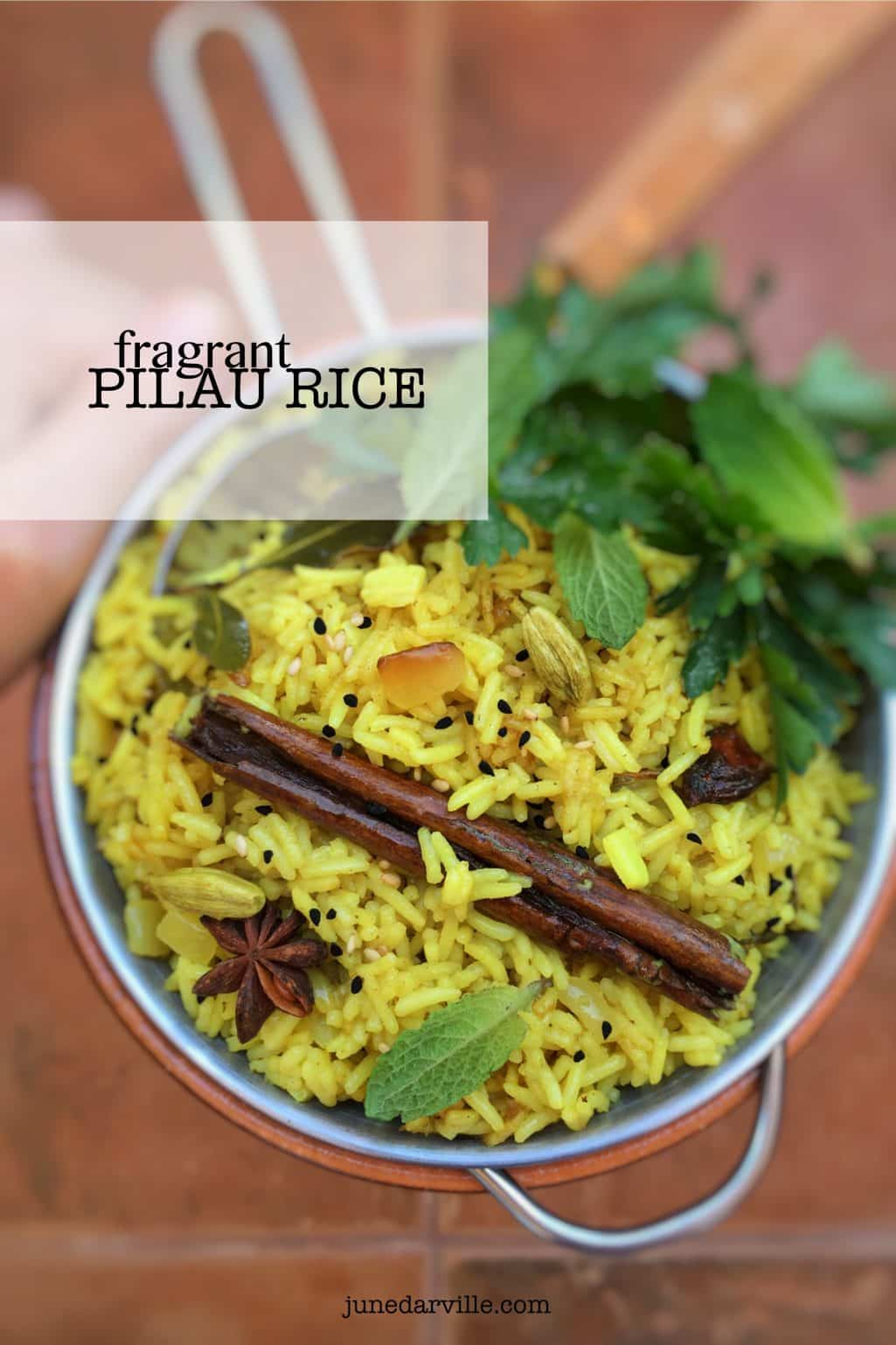 Pilau Rice Recipe (Eastern Fragrant Rice)