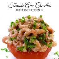 Tomate Aux Crevettes (Shrimp Stuffed Tomatoes)
