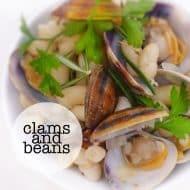 Beans and Clams (Alubias con Almejas)