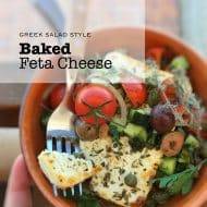 Baked Feta Cheese Casserole Recipe
