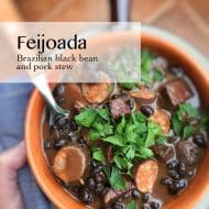 Feijoada, a Brazilian Black Bean Stew
