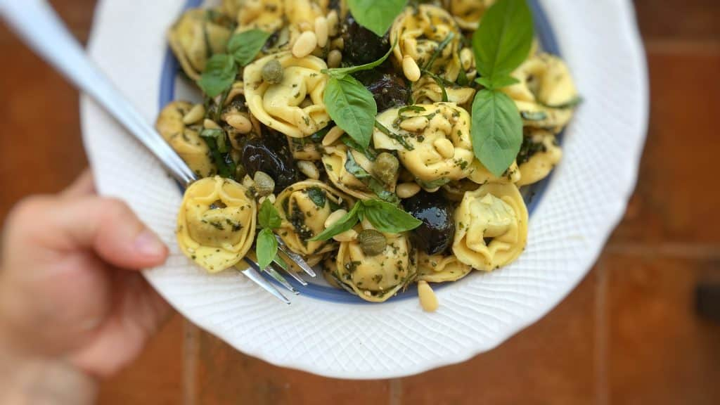 Cold tortellini pasta salad recipes